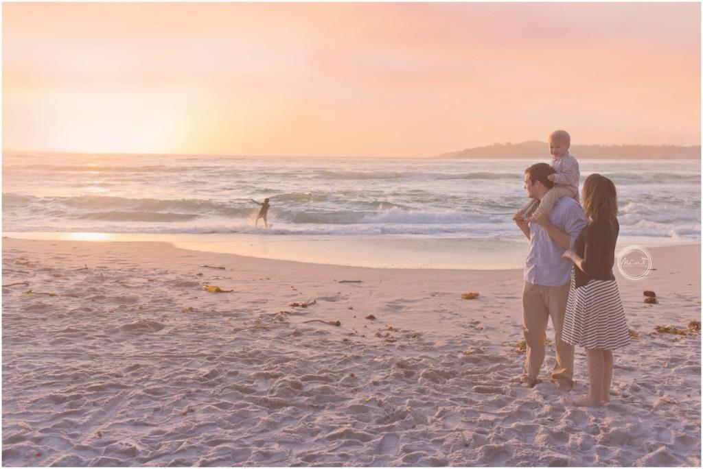 Carmel family photographer, monterey family photographer, carmel vacation, monterey vacation, sunset, beach photographer, beach family session, monterey bay, visit carmel, visit monterey, mint portrait studio, professional photographer
