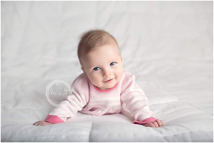 Savannah baby milestone photographer